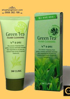 sua-rua-mat-tra-xanh-green-tea-foam-cleansing-3w-clinic (4)