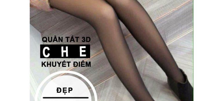 Review Quần tất 3D che khuyết điểm hoàn hảo cho đôi chân