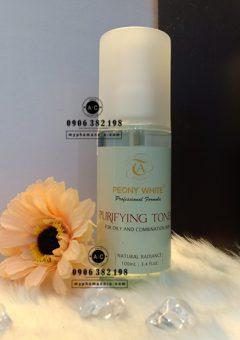 Tẩy trang xịt khoáng, nước hoa hồng Peony White 3in1