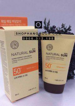The Face Shop Natural Sun eco Super Perfect Sun cream
