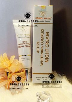 Active Whitening Complex NIGHT CREAM Peony White