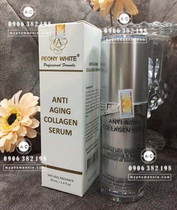 ANTI ALLERGIC COLLAGEN SERUM Peony White