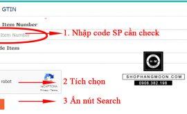 Web Check mã vạch mỹ phẩm online Nhanh và Uy tín nhất