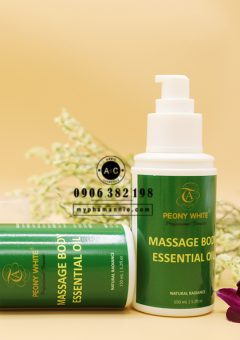 Tinh dầu massage body Peony White