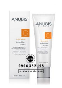 Kem tăng cường tế bào gốc Polivitaminic C Antioxidant Cream Anubis Barcelona