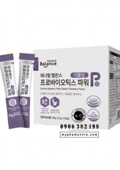 Cân bằng tổng hợp General Balance Plant Based Probiotics Power CareCella
