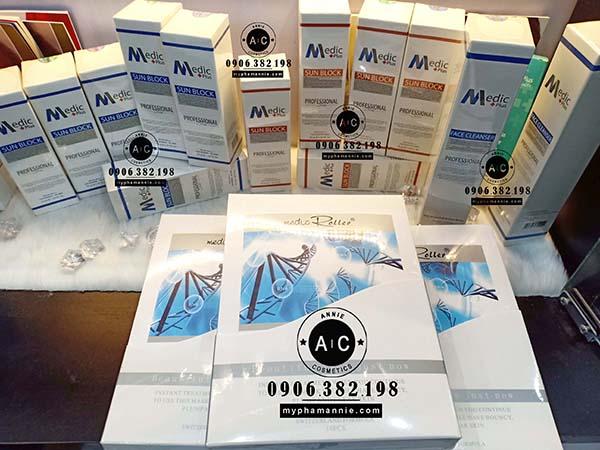 Kem Chống nắng Trang điểm Medic Plus cho Da dầu và Da thường
