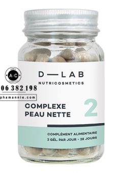Viên uống điều tiết bã nhờn và ngăn ngừa mụn Clear Skin Complex D-Lab