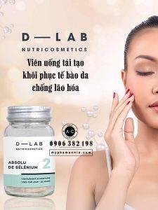Viên uống tái tạo tế bào Pure Selenium Dlab