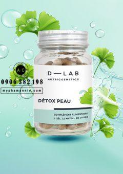 Viên uống thanh lọc da điều trị mụn Skin Detox Dlab