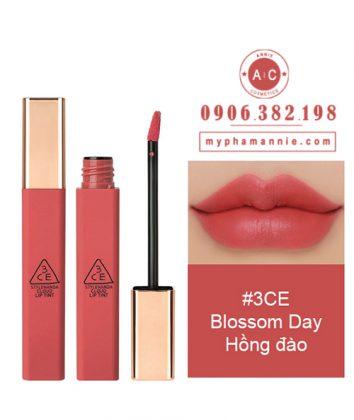 Son Kem 3CE Cloud Lip Tint - Blossom Day (Hồng đào)