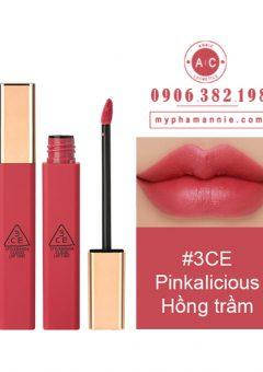 Son Kem 3CE Cloud Lip Tint - Pinkalicious (Hồng trầm)