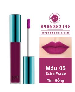 Son Kem Lì Bbia Last Velvet Lip Tint Ver 1 Extra Force 05 – Tím Hồng
