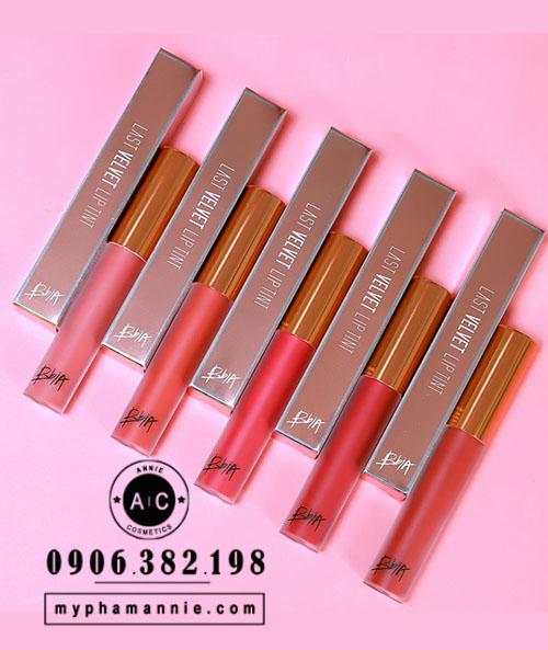 Son Kem Lì Bbia Last Velvet Lip Tint Ver 4 (Full màu)