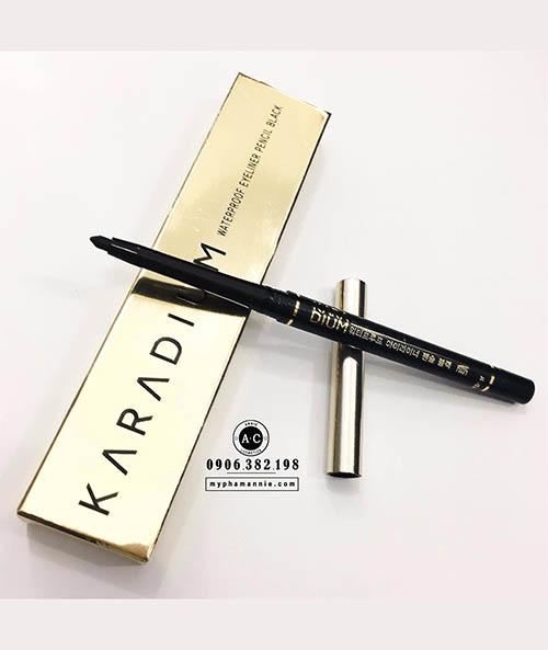 Chì kẻ mắt Karadium Waterproof Eyeliner Pencilkhông trôi