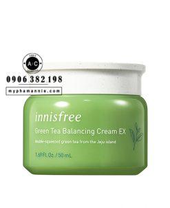 Kem dưỡng trà xanh Innisfree Green Tea Balancing Cream EX