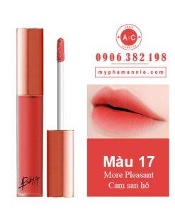 Son Kem Lì Bbia Last Velvet Lip Tint Ver 4 More Pleasant 17 – Cam san hô