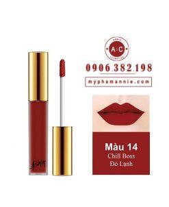 Son Kem Lì Bbia Last Velvet Lip Tint Ver 3 Chill Boss 14 – Đỏ Lạnh