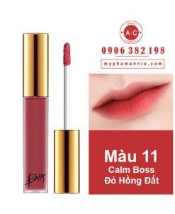 Son Kem Lì Bbia Last Velvet Lip Tint Ver 3 Calm Boss 11 – Đỏ Hồng Đất
