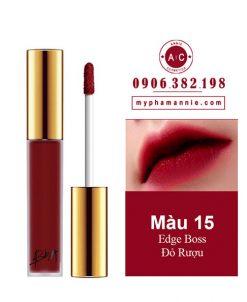 Son Kem Lì Bbia Last Velvet Lip Tint Ver 3 Edge Boss 15 – Đỏ Rượu