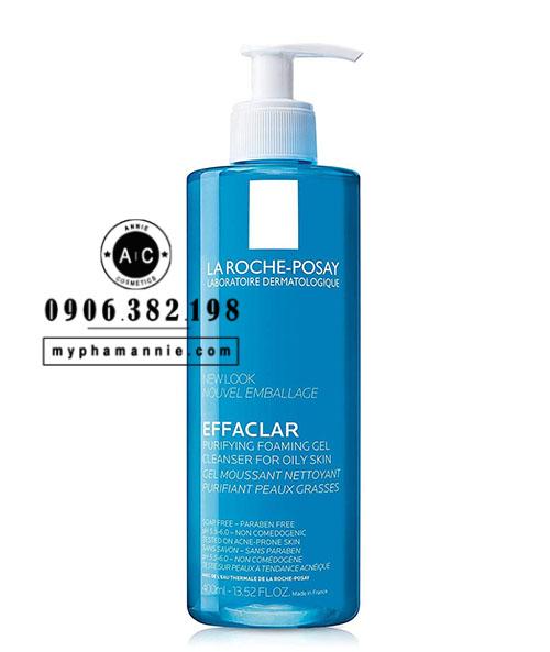 Sữa rửa mặt La Roche-Posay Effaclar cho da dầu 400ml
