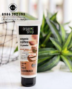 Tẩy da chết mặt Organic Coffe & Powder