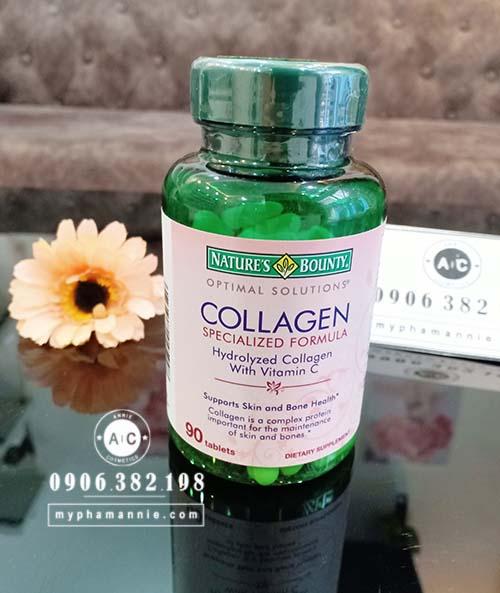 Viên uống bổ sung Collagen với Vitamin C của Nga