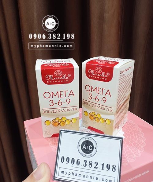 Viên uống Omega 369 xách tay Nga (hộp 100 viên)