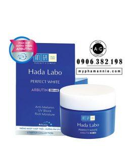 Kem dưỡng ẩm trắng da Hada Labo Perfect White Cream