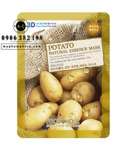 Mặt Nạ 3D Khoai Tây Potato Natural Essence Mask Foodaholic