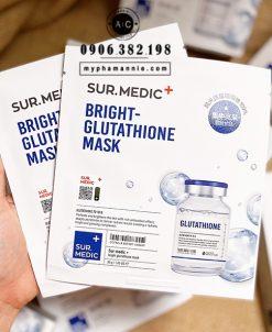 Mặt nạ dưỡng trắng da Sur. Medic Bright Glutathione Mask