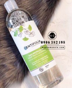 Nước tẩy trang rau má Centifolia Eau Micellaire 500ml