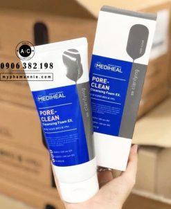 Sữa rửa mặt than hoạt tính Mediheal Pore-Clean Cleansing Foam 170ml