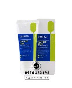 Sữa rửa mặt trị mụn Mediheal TeaTree Care Cleansing Foam 170ml