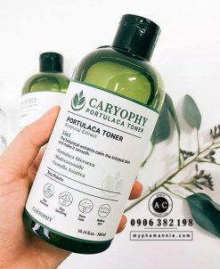 Toner Caryophy trị mụn rau má