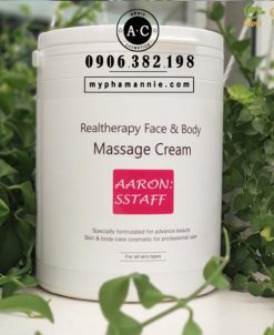 Kem massage Mặt dành cho spa Aaron Sstaff Hàn Quốc